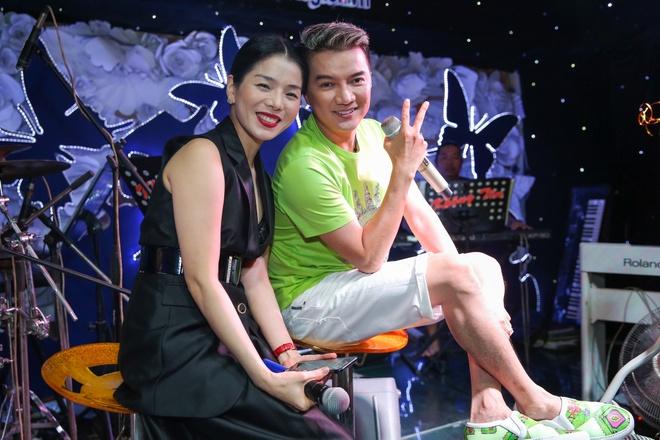 Ngoc Son tap nhac voi Dam Vinh Hung anh 4