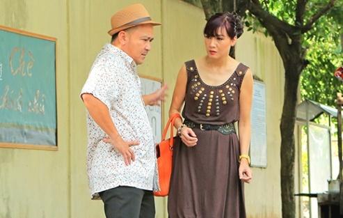 Danh hai Hoang Son tan tinh Hien Mai trong phim moi hinh anh
