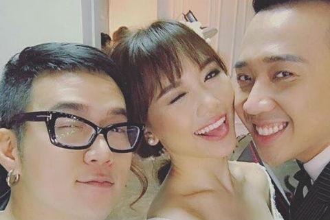 Hari Won va Tran Thanh di thu do cuoi hinh anh