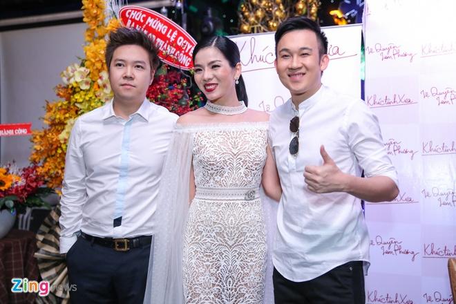 Le Quyen than thiet voi Quang Le o su kien anh 5