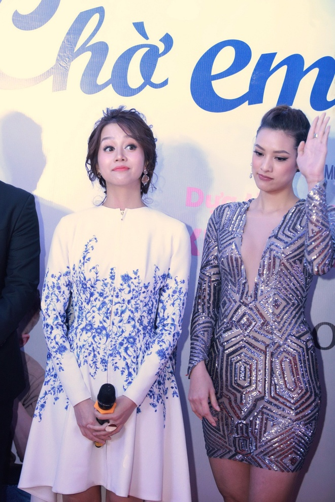 An Nguy, Lily Nguyen tuoi tan tren tham do ra mat phim hinh anh 3