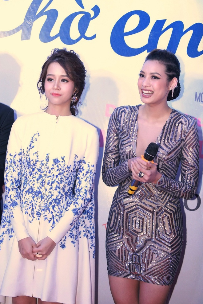 An Nguy, Lily Nguyen tuoi tan tren tham do ra mat phim hinh anh 4