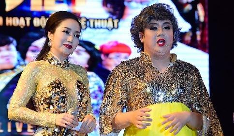 Gia Bao bi nghi da xeo Tran Thanh 'cong' nhung van lay vo hinh anh