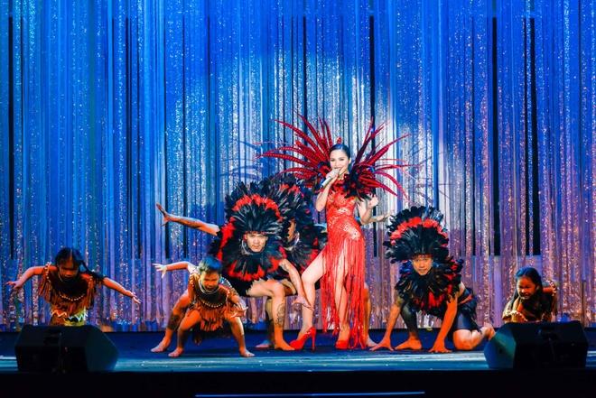 Live show ruc ro sac mau cua Dam Vinh Hung o Nha Trang hinh anh 9
