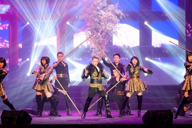 Live show ruc ro sac mau cua Dam Vinh Hung o Nha Trang hinh anh 4