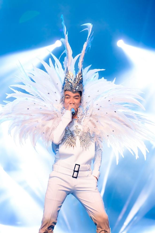 Live show ruc ro sac mau cua Dam Vinh Hung o Nha Trang hinh anh 6
