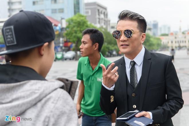 Cuong Do la va Ha Ho cung tham gia MV cua Mr. Dam anh 7