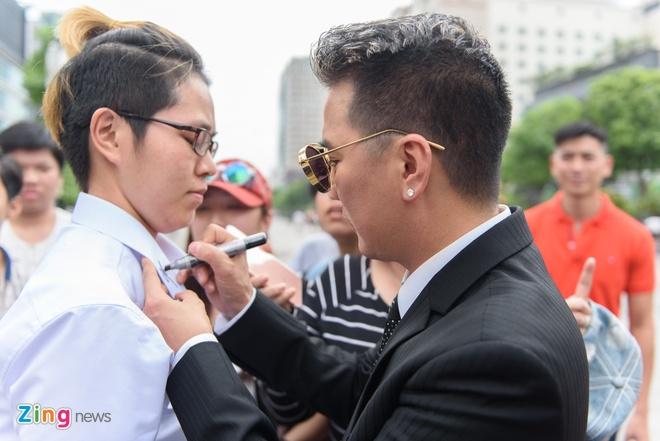 Cuong Do la va Ha Ho cung tham gia MV cua Mr. Dam anh 9