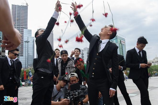 Cuong Do la va Ha Ho cung tham gia MV cua Mr. Dam anh 10