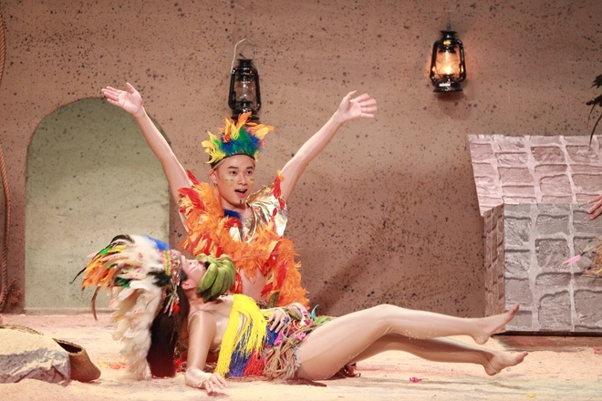 Truc Nhan goi Hoai Linh la 'thang' tren song truyen hinh hinh anh 2