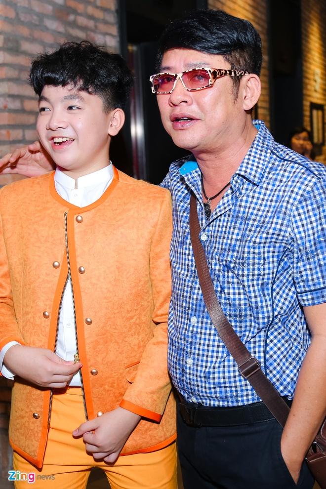 Hot girl Kha Ngan tinh tu ben Minh Luan o su kien hinh anh 10