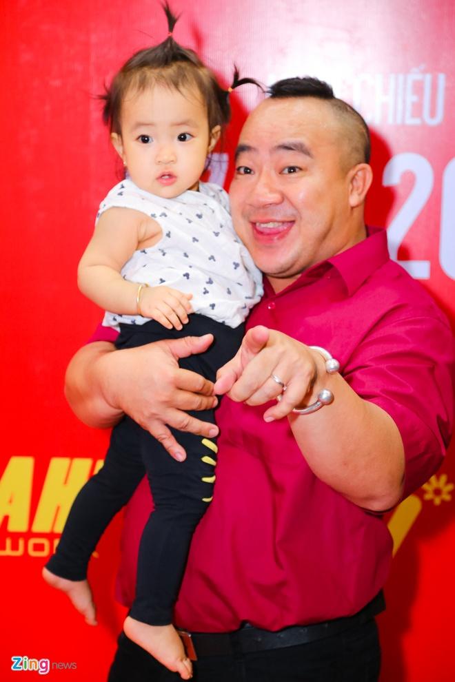 Hot girl Kha Ngan tinh tu ben Minh Luan o su kien hinh anh 7