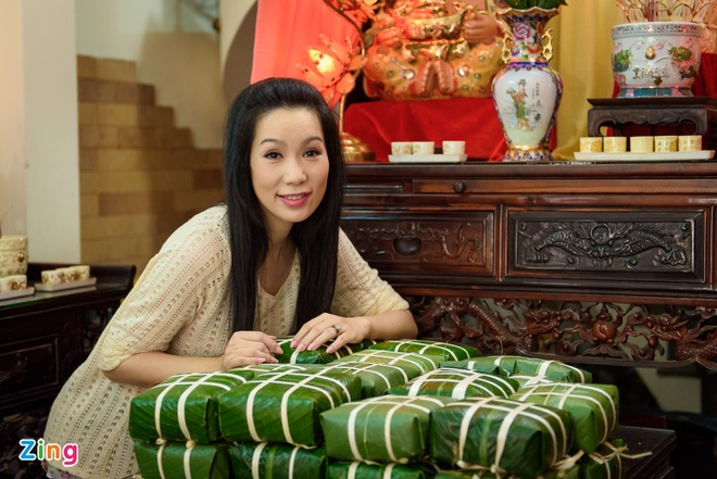 Tong lanh su My den nha A hau Trinh Kim Chi goi banh chung hinh anh 14
