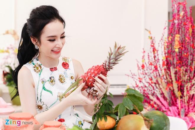 Angela Phuong Trinh don Tet o can ho moi mua hinh anh 4