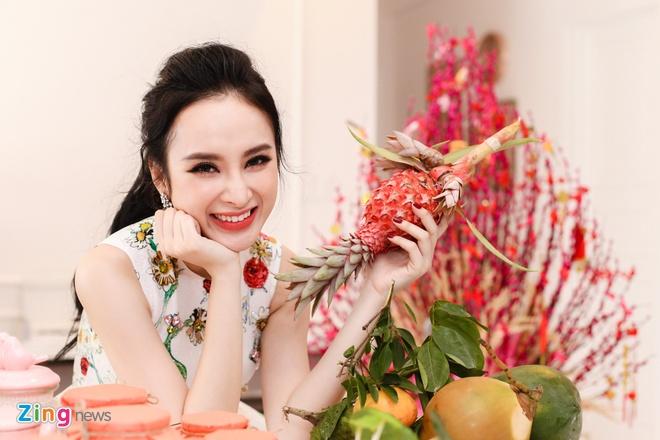 Angela Phuong Trinh don Tet o can ho moi mua hinh anh 5
