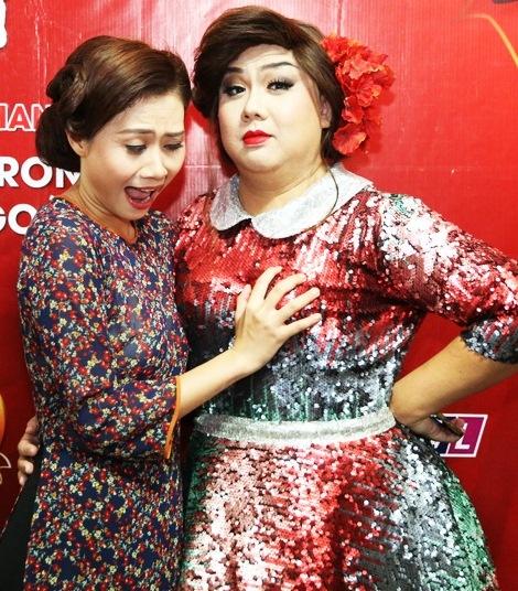Hoai Linh mac quan sooc, mang dep le di lam giam khao hinh anh 7