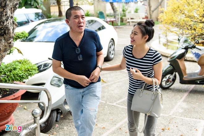 Hoai Linh di tap kich cung Truong Giang anh 10