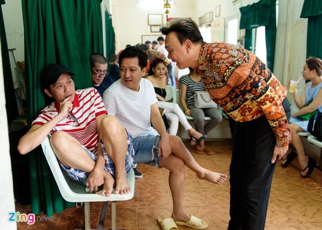 Hoai Linh di tap kich cung Truong Giang anh 6