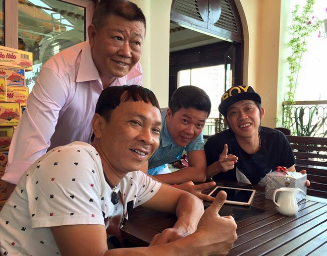 Dung Nhi duoc Hoai Linh am tham giup do anh 2