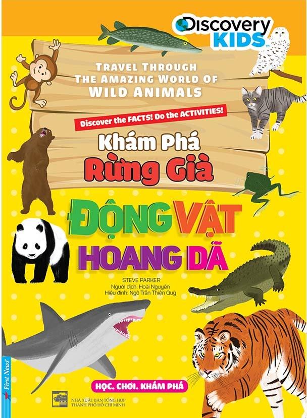Ra mat sach Kham pha rung gia dong vat hoang da anh 1