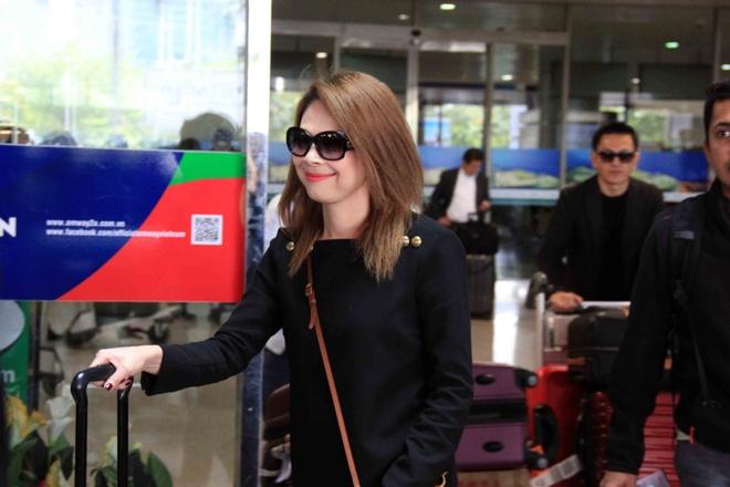 Thanh Thao va ban trai Viet kieu anh 1