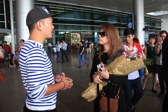 Thanh Thao va ban trai Viet kieu anh 7