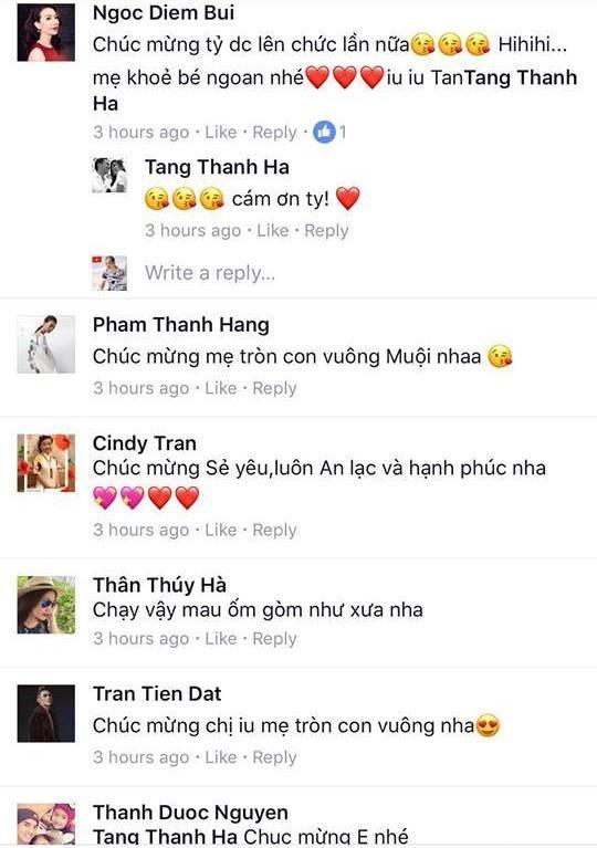 Tang Thanh Ha sinh con gai anh 2