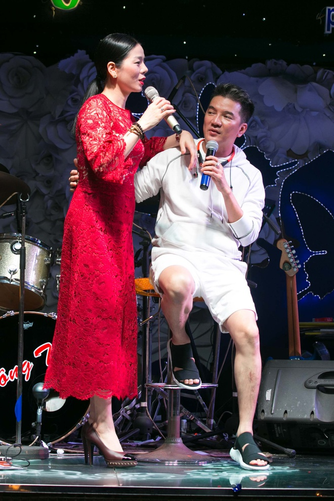 Sau khi cong khai tinh yeu voi Hoai Linh, Ha My tap nhac cung Mr. Dam hinh anh 5