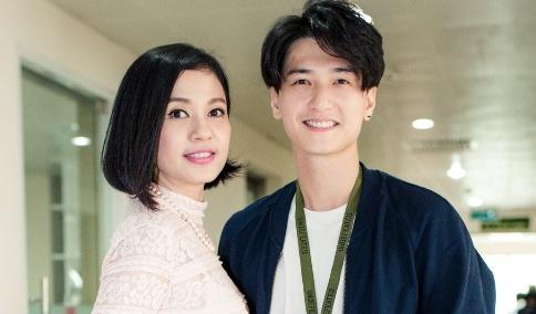 Viet Trinh diu dang ben ban trai Hoang Oanh trong ngay casting phim hinh anh