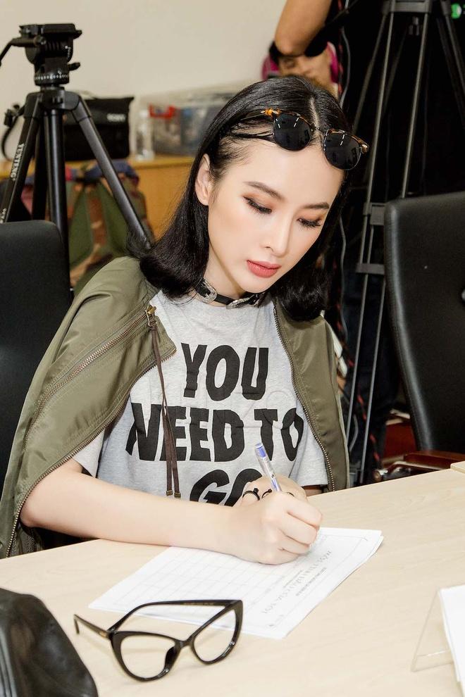 Angela Phuong Trinh sanh dieu du casting phim 'Moi tinh dau cua toi' hinh anh 5