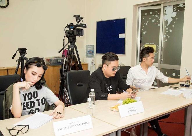 Angela Phuong Trinh sanh dieu du casting phim 'Moi tinh dau cua toi' hinh anh 4