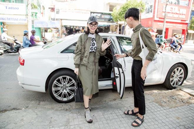 Angela Phuong Trinh sanh dieu du casting phim 'Moi tinh dau cua toi' hinh anh 1