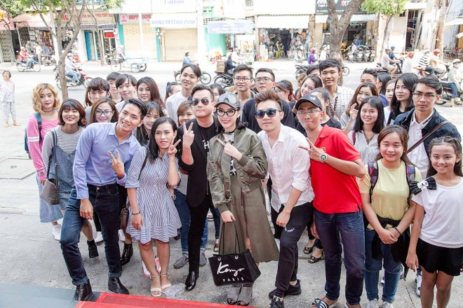 Angela Phuong Trinh sanh dieu du casting phim 'Moi tinh dau cua toi' hinh anh 3