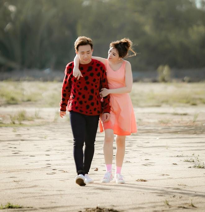 Tran Thanh hon Hari say dam khi quay MV chung hinh anh 1