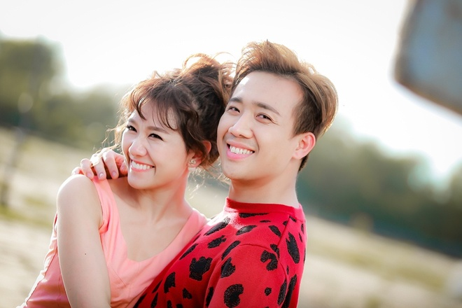 Tran Thanh hon Hari say dam khi quay MV chung hinh anh 4