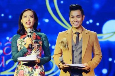 Hong Anh, Nguyen Khang bi nhan xet la MC tham hoa o Canh dieu 2017 hinh anh