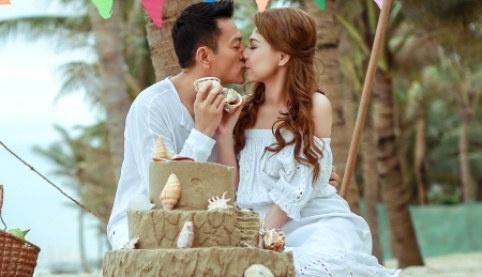 Thanh Thao va ban trai hon nhau say dam o Da Nang hinh anh