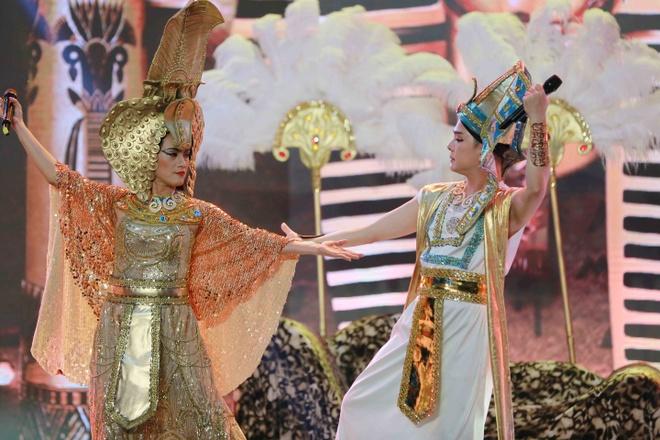 Con gai Che Linh hat sai, dung chan tai Troi sinh mot cap hinh anh 1