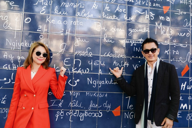 Thanh Thao va ban trai Viet kieu di du lich chau Au hinh anh 3