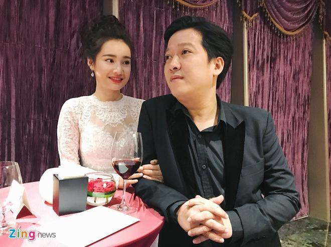 Truong Giang, Nha Phuong tinh tu den chuc mung Dam Vinh Hung hinh anh 3