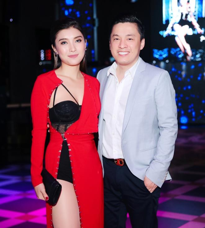 Lam Truong den chuc mung chau gai ra mat MV moi hinh anh 2