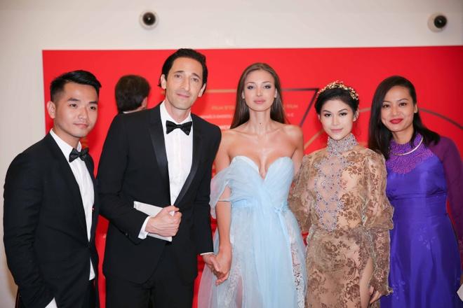 Ngoc Thanh Tam tren tham do LHP Cannes anh 6