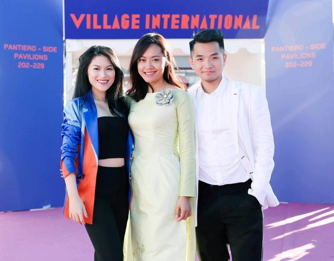 Hong Anh, Ngoc Thanh Tam du Gian Viet Nam o LHP Cannes 2017 hinh anh 2