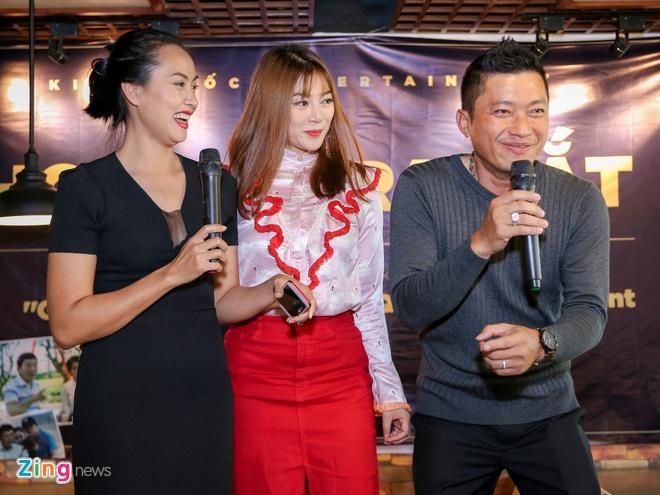 Thanh Truc du ra mat phim cua Kinh Quoc anh 7