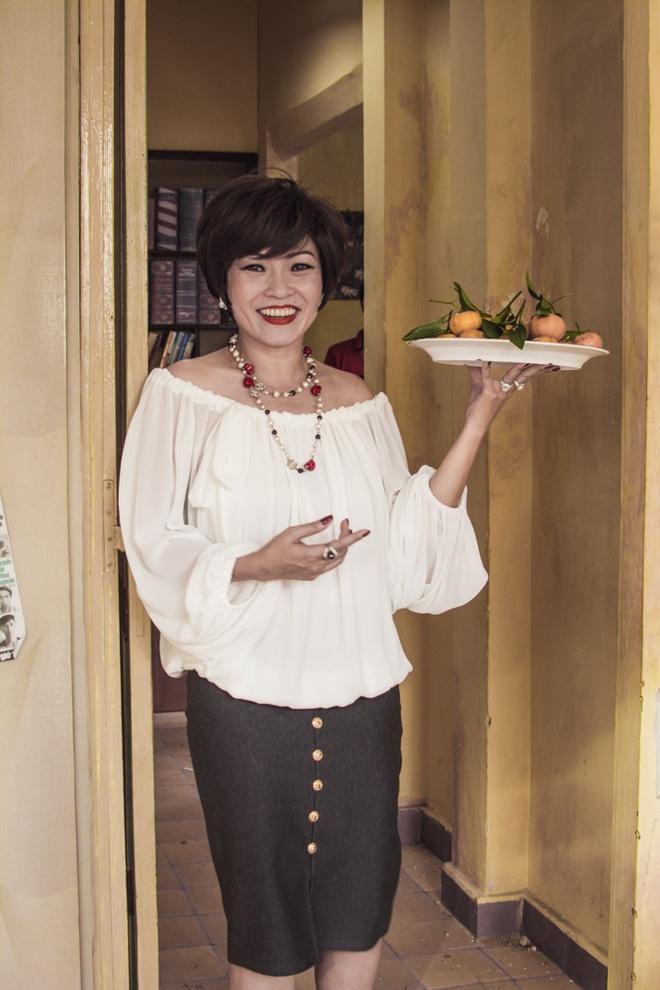Phuong Thanh lam ba co diem dua, kho tinh cua Thi No trong phim hinh anh 2