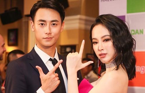 Angela Phuong Trinh tinh tu ben dan trai dep tai hop bao phim 'Glee' hinh anh