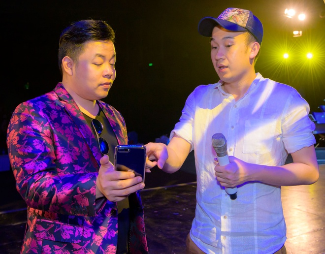 Dam Vinh Hung, Huong Lan tap duot truoc dem dien Bolero hinh anh 5