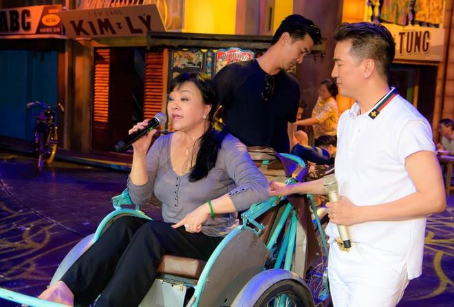 Dam Vinh Hung, Huong Lan tap duot truoc dem dien Bolero hinh anh 2