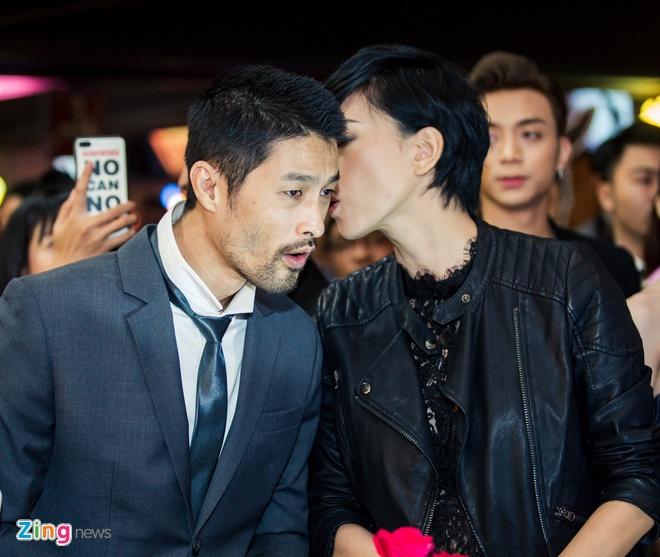 Ngo Thanh Van tai ngo Johnny Tri Nguyen trong phim moi hinh anh 4