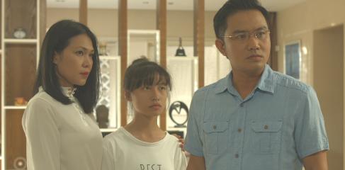Duc Hai, Thien Bao ham hai nhau, tranh gianh tai san trong phim moi hinh anh